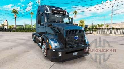 Volvo VNL 670 black for American Truck Simulator
