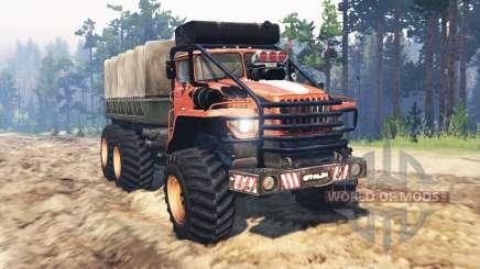 Ural-4320 Polar Explorer v14.0 for Spin Tires