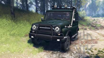 UAZ-315195 hunter v3.0 for Spin Tires