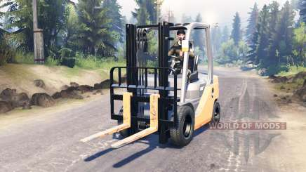 Toyota Forklift for Spin Tires