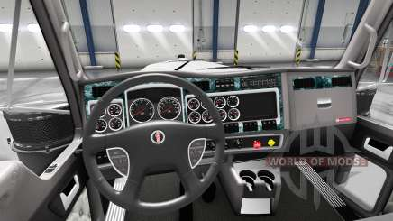Interior Wood for Kenworth W900 for American Truck Simulator