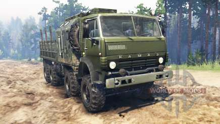 KamAZ-6350 Mustang for Spin Tires