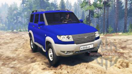 UAZ-3163 Patriot turbodiesel for Spin Tires