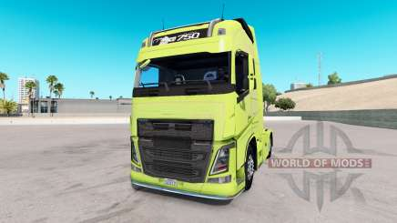 Volvo FH16 2013 v2.2 for American Truck Simulator