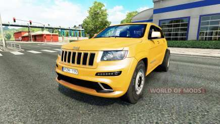 Jeep Grand Cherokee SRT8 v1.1 for Euro Truck Simulator 2
