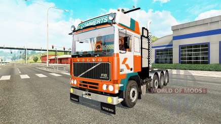 Volvo F10 8x4 heavy for Euro Truck Simulator 2
