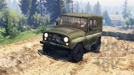 UAZ-31512 v2.0 for Spin Tires