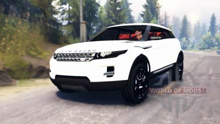 Range Rover Evoque LRX for Spin Tires