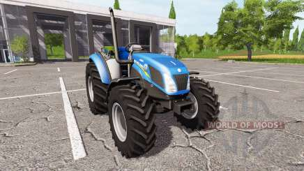 New Holland T4.75 v1.17 for Farming Simulator 2017