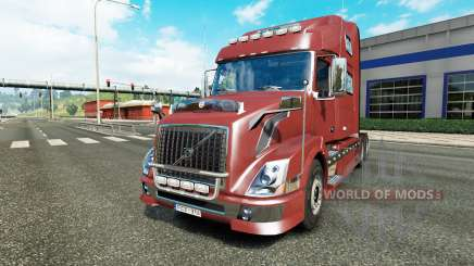 Volvo VNL 780 reworked for Euro Truck Simulator 2