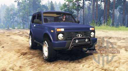 ВАЗ-21214 (Lada 4x4 Urban) for Spin Tires