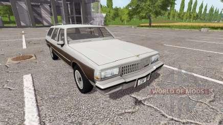 Chevrolet Caprice Estate Wagon 1989 for Farming Simulator 2017
