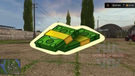 Money Mod for Farming Simulator 2017