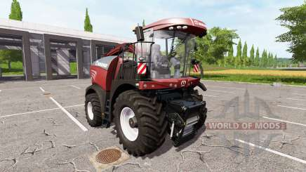 Krone BiG X 580 tuning edition v1.1 for Farming Simulator 2017