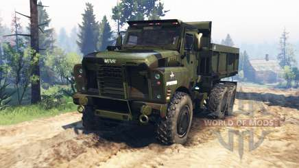 Oshkosh MTVR v2.0 for Spin Tires