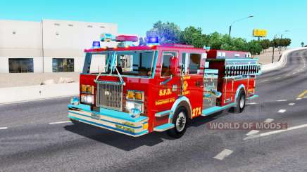 Fire truck for American Truck Simulator