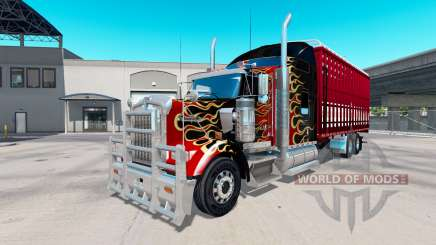 Kenworth W900 torton for American Truck Simulator