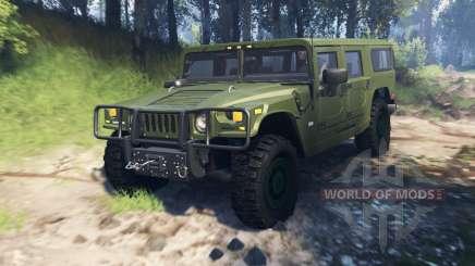 Hummer H1 v3.0 for Spin Tires