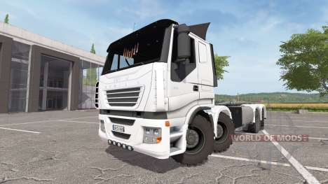 Iveco Stralis 8x8 cointainer for Farming Simulator 2017