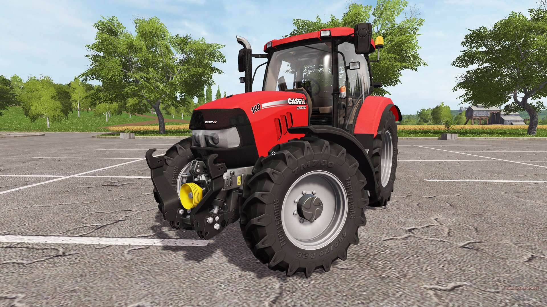Case IH Maxxum 140 for Farming Simulator 2017