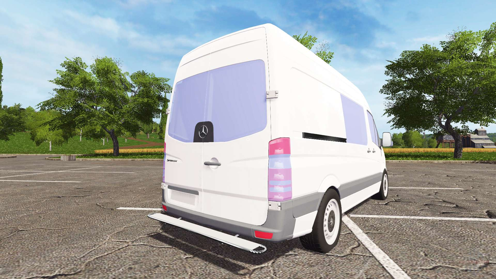 mercedes benz sprinter for farming simulator 2017. Black Bedroom Furniture Sets. Home Design Ideas