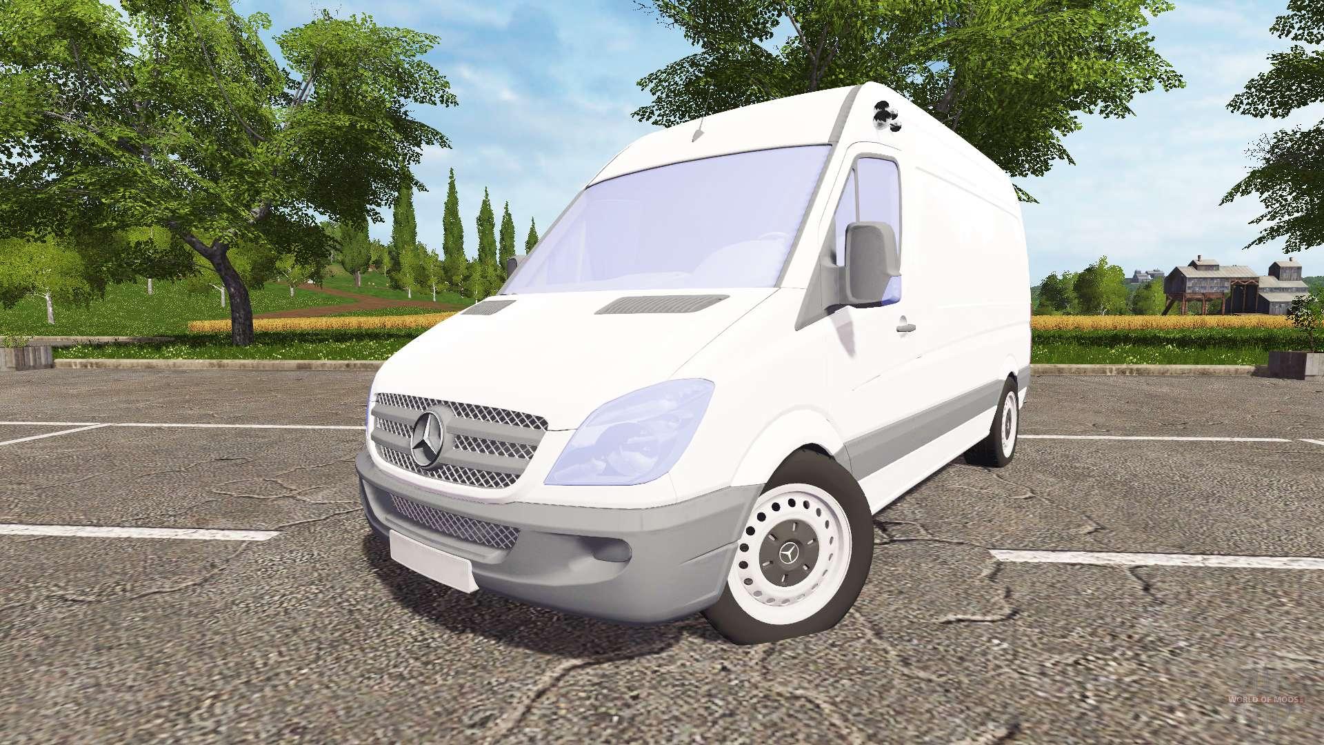Mercedes benz sprinter for farming simulator 2017 for Mercedes benz sprinter 2017