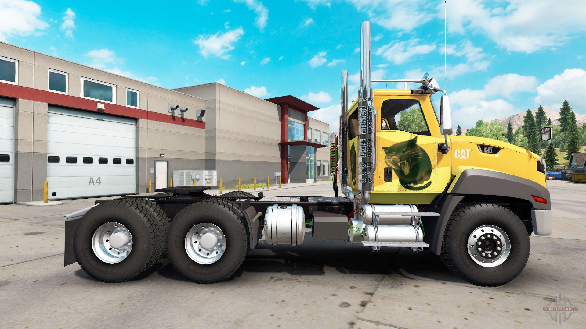 Caterpillar CT660 v2.0 for American Truck Simulator