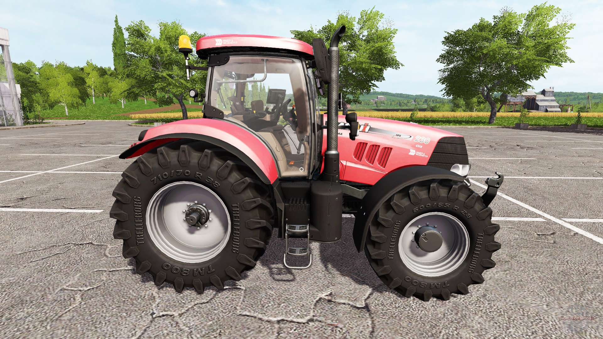 Case IH Puma 230 CVX for Farming Simulator 2017