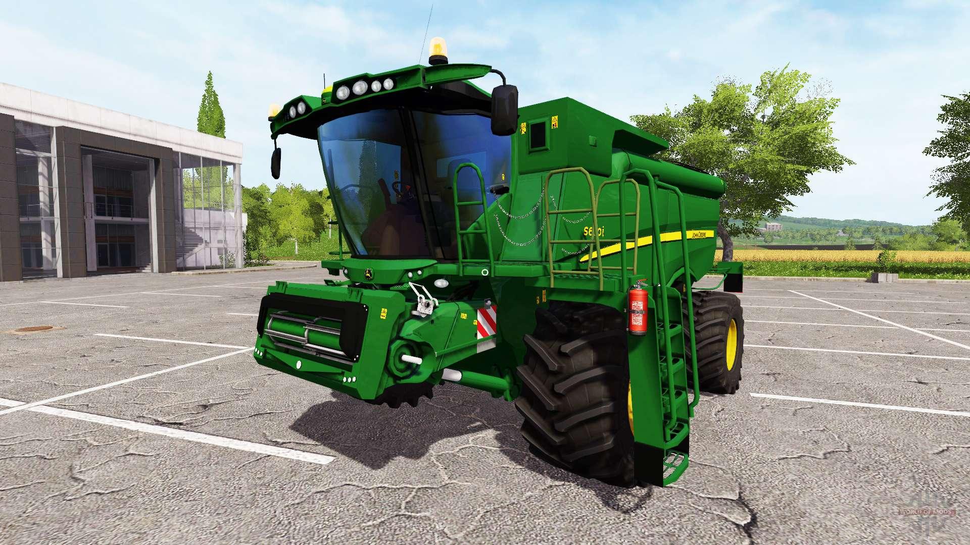 John Deere S690i washable for Farming Simulator 2017