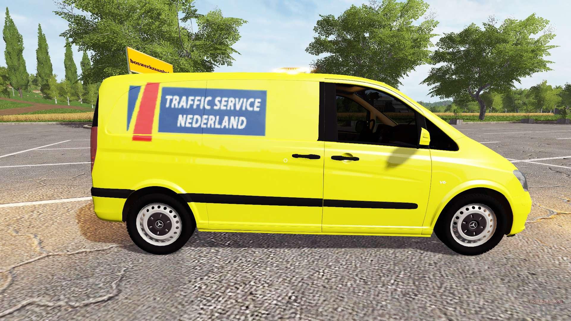 mercedes benz viano traffic service nederland for farming. Black Bedroom Furniture Sets. Home Design Ideas