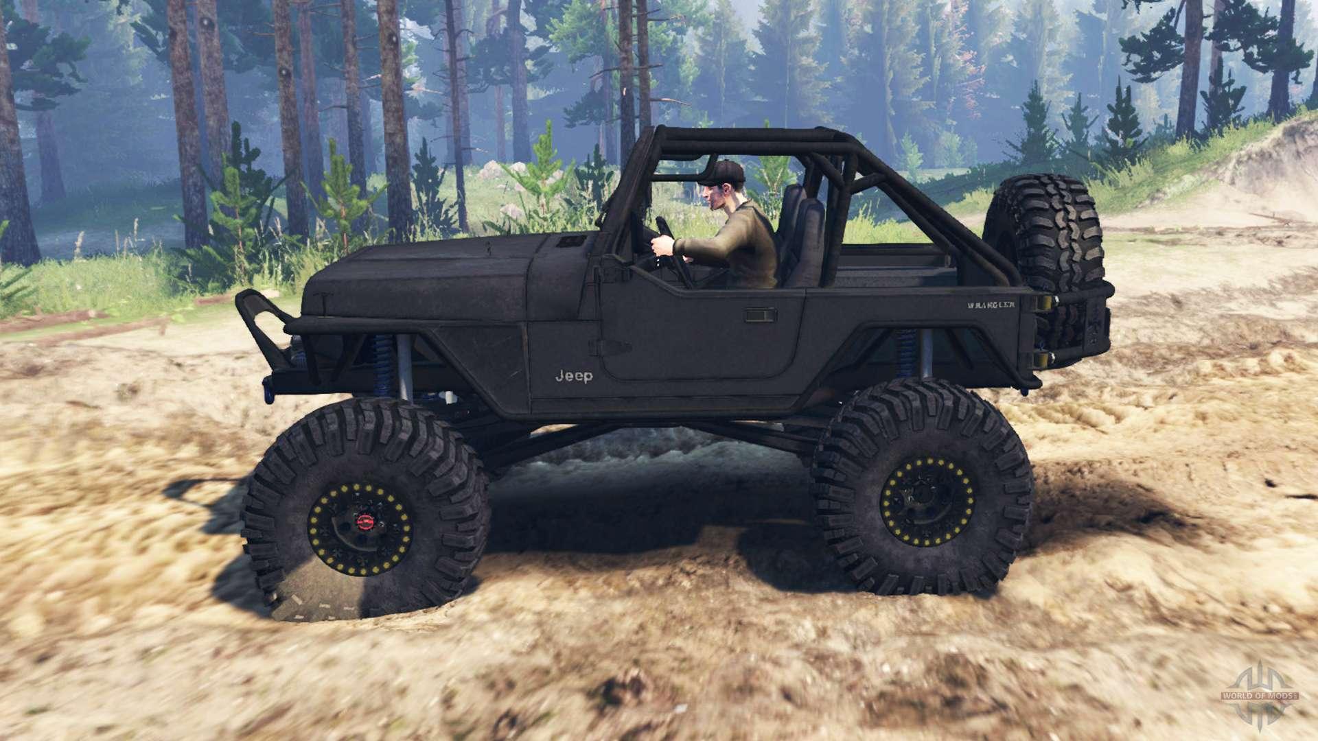 jeep wrangler yj for spin tires. Black Bedroom Furniture Sets. Home Design Ideas