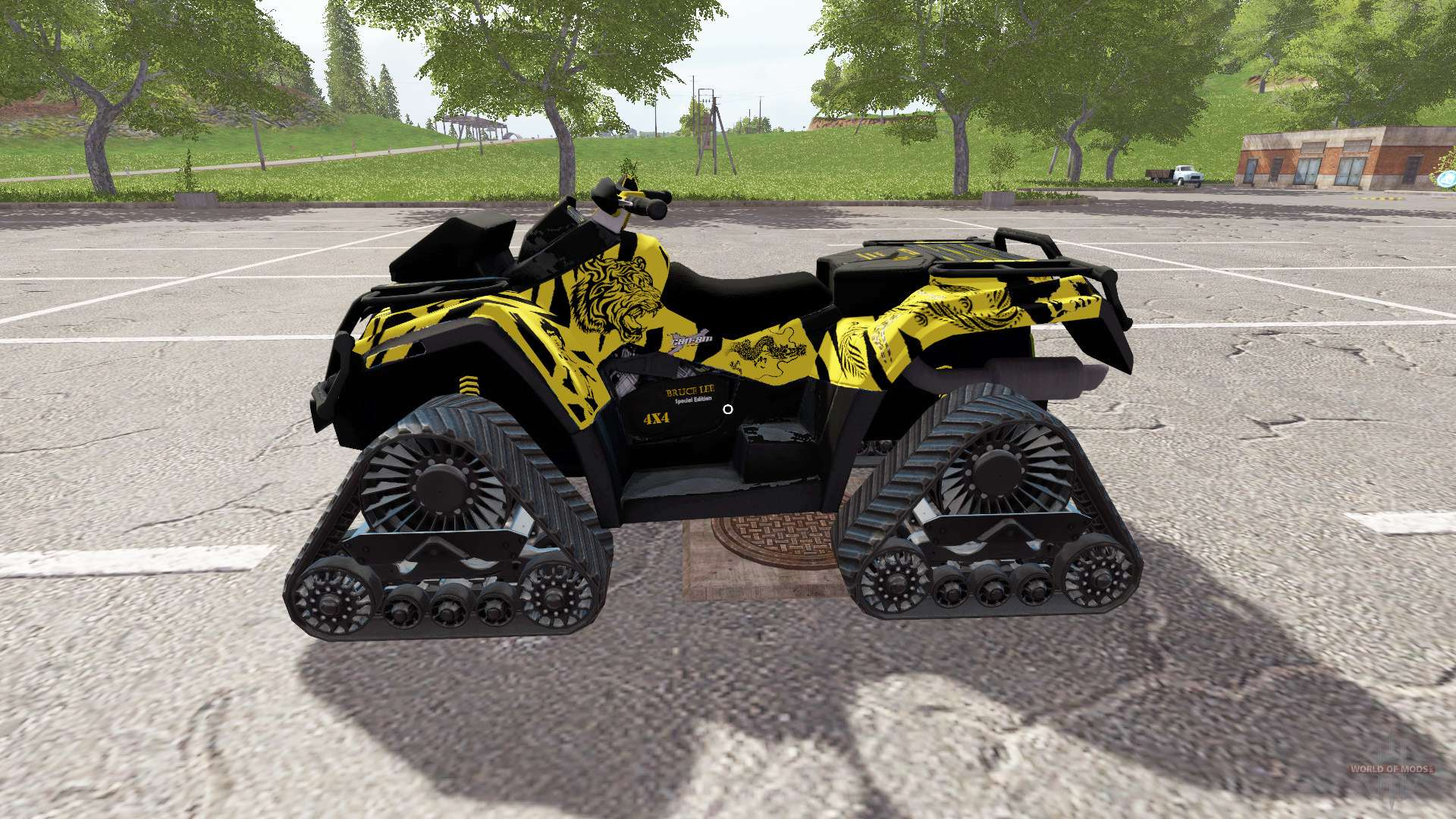 2017 Can Am 1000 >> Can-Am Outlander 1000 XT Bruce Lee for Farming Simulator 2017