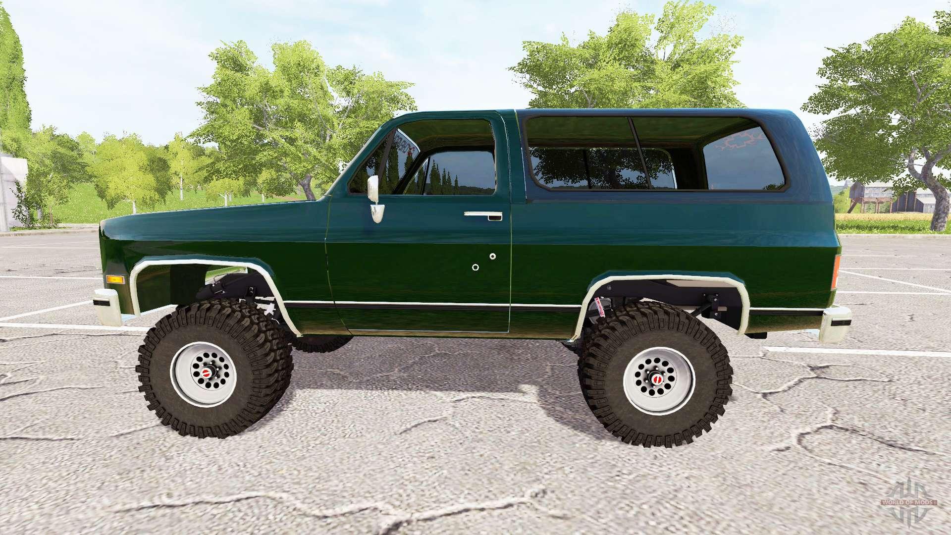 Chevrolet k5 blazer 1991 for farming simulator 2017