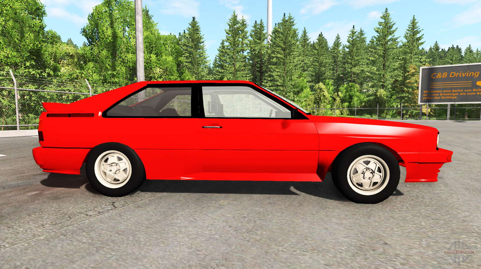 audi quattro typ 85 1988 for beamng drive. Black Bedroom Furniture Sets. Home Design Ideas