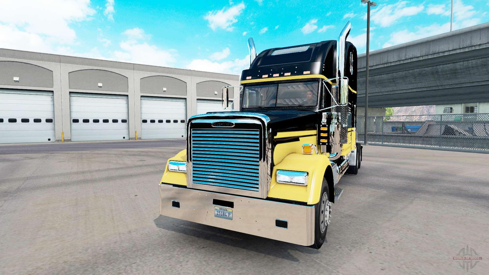 Freightliner Classic XL custom v2 1 for American Truck Simulator