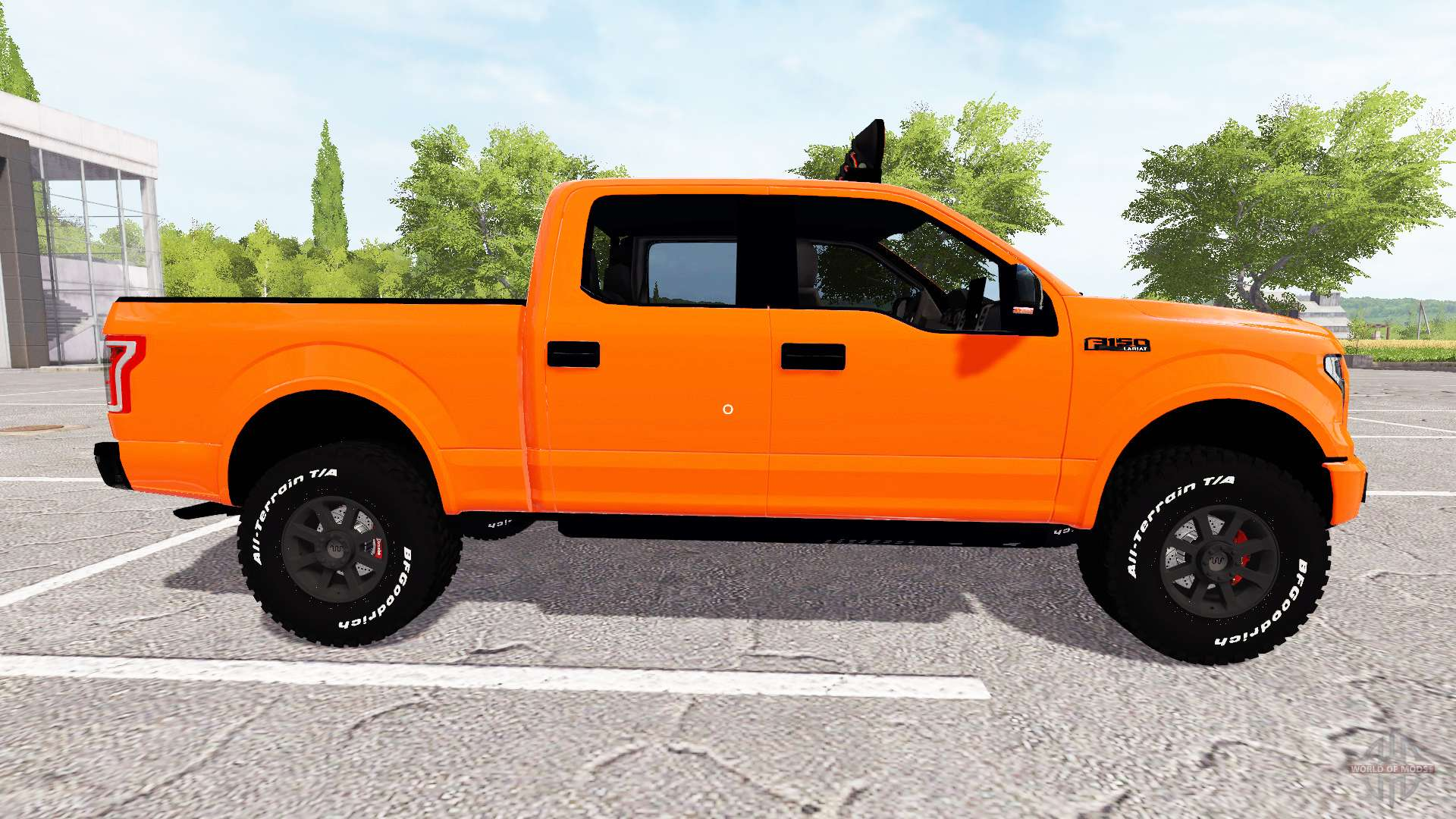 ford f 150 lariat supercrew for farming simulator 2017. Black Bedroom Furniture Sets. Home Design Ideas