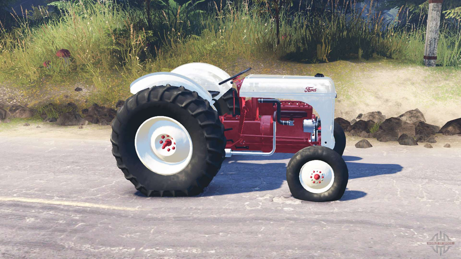 Ford Tractor Tires And Wheels : Ford n for spin tires