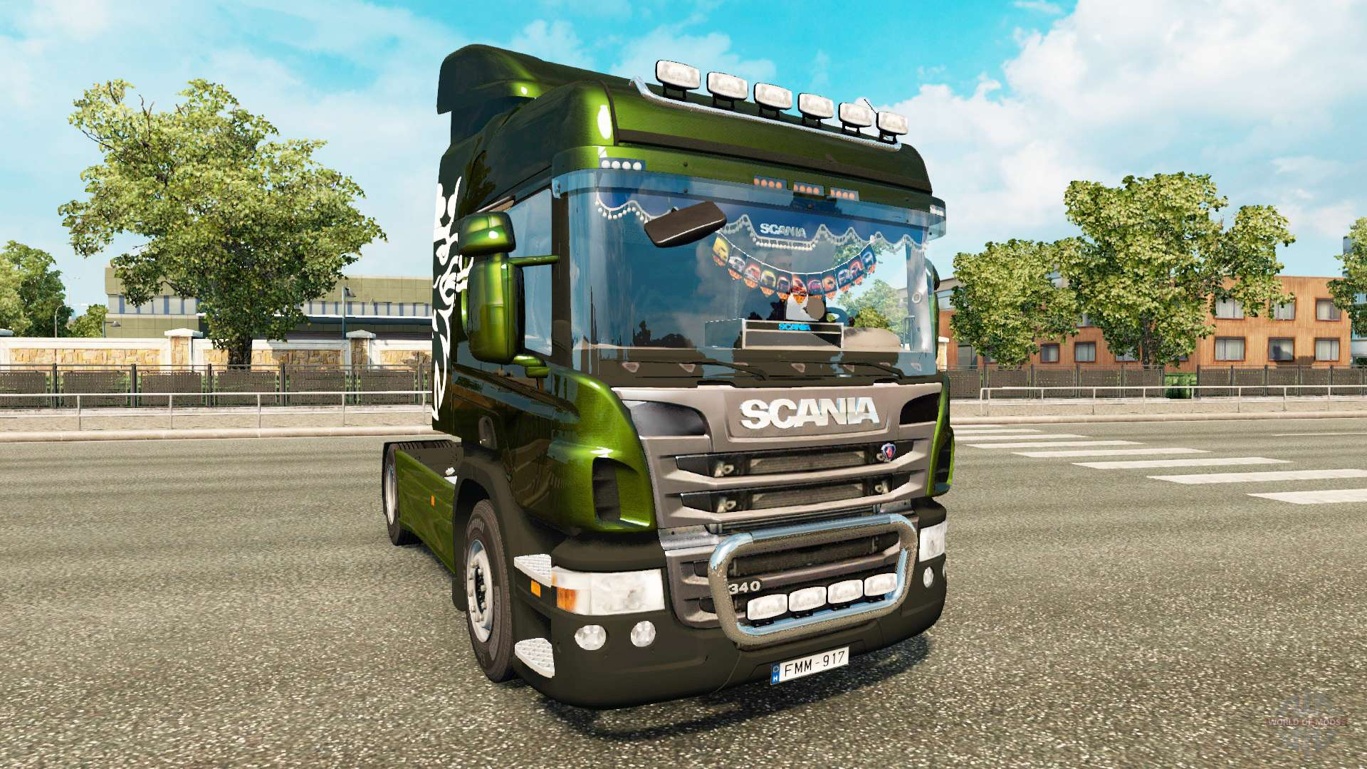 scania p340 for euro truck simulator 2. Black Bedroom Furniture Sets. Home Design Ideas
