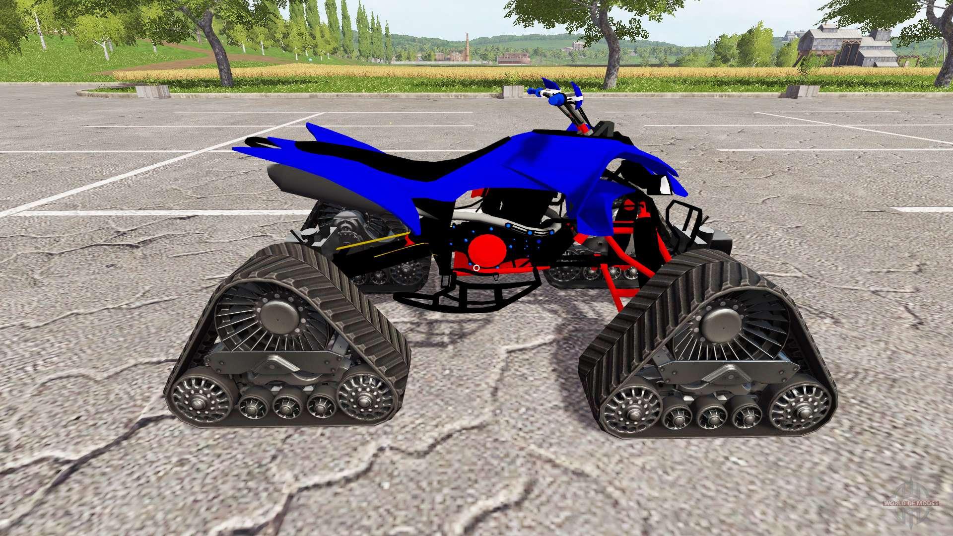 Yamaha raptor for farming simulator 2017 for Yamaha raptor 2017
