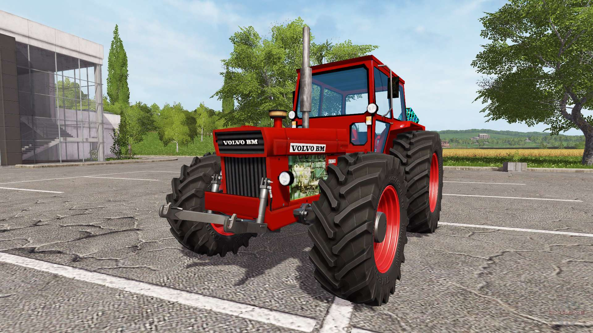 Volvo bm 810 for farming simulator 2017 for Hp bm