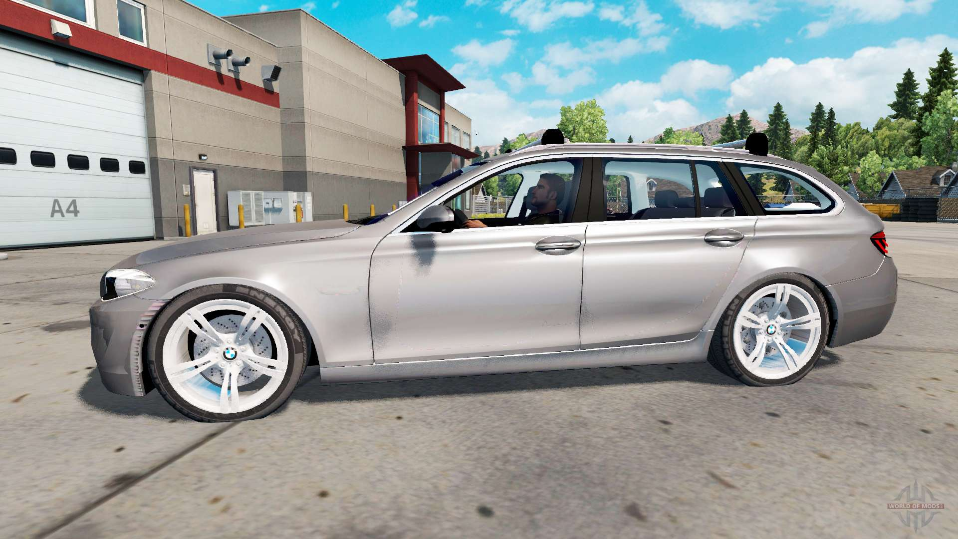 BMW M5 (F11) Touring for American Truck Simulator