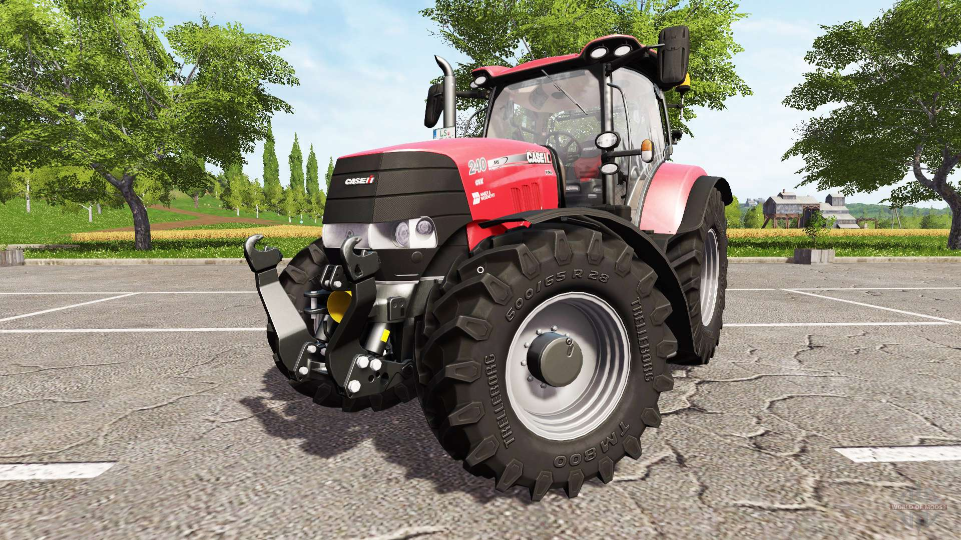 Case IH Puma 240 CVX for Farming Simulator 2017
