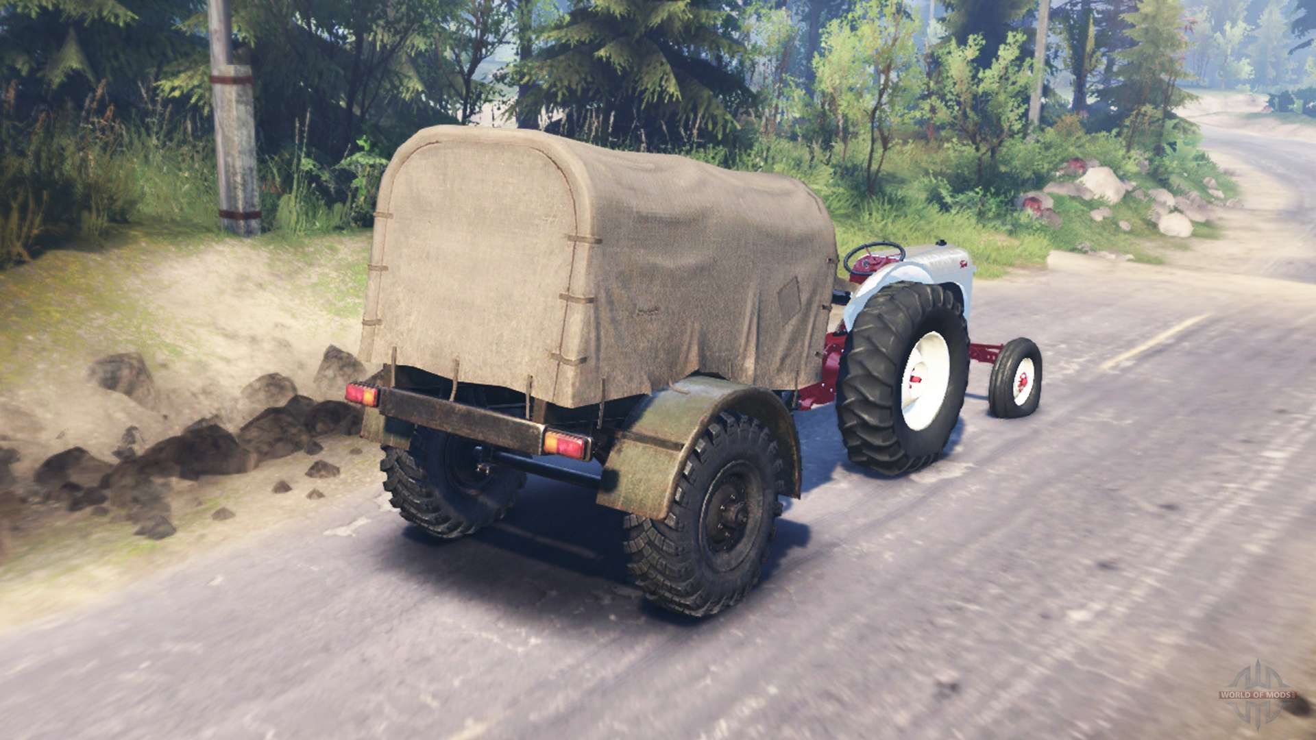 Ford 8n Tire : Ford n for spin tires