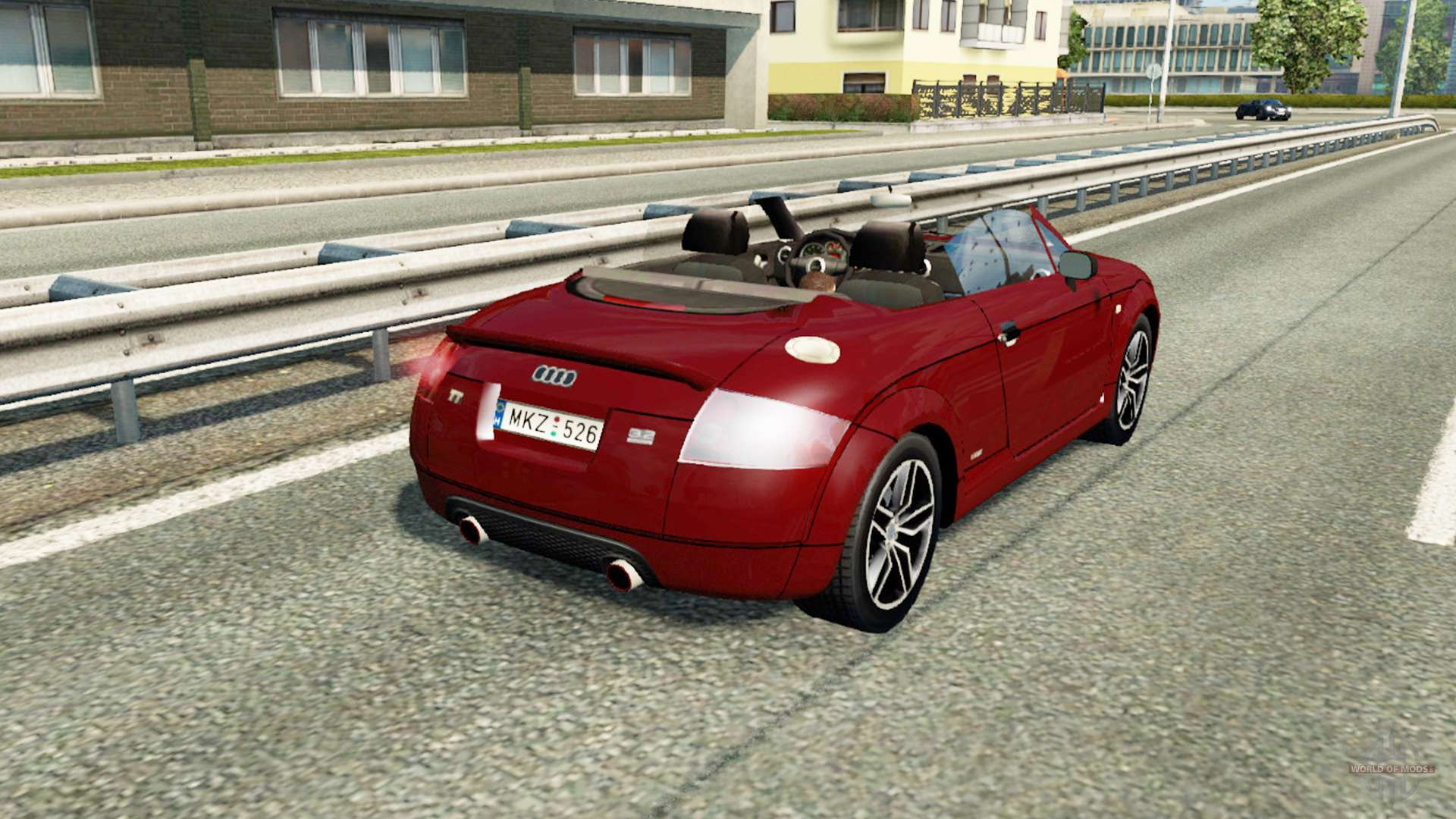 audi tt roadster 8n for traffic for euro truck simulator 2. Black Bedroom Furniture Sets. Home Design Ideas