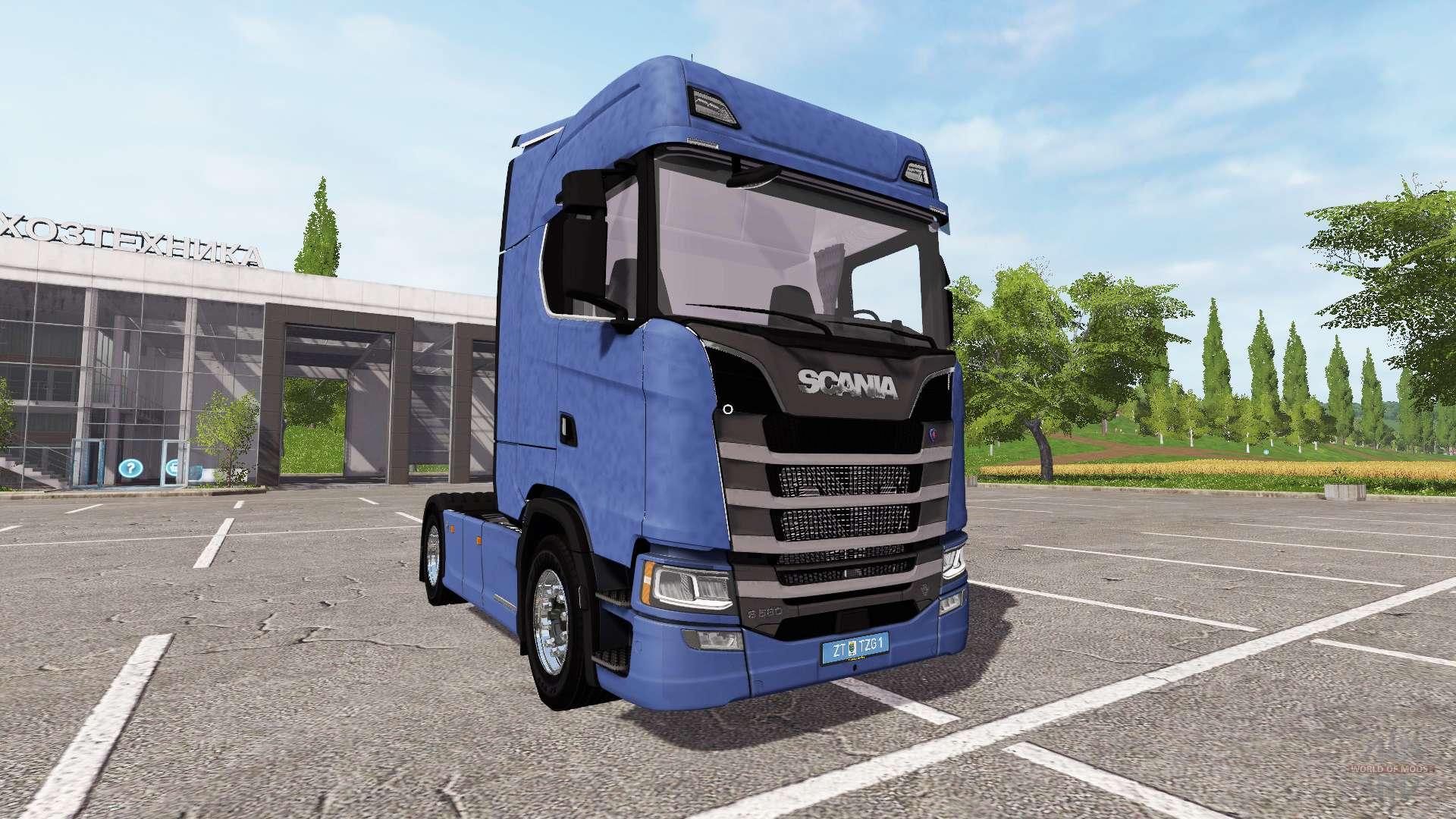 Scania S580 For Farming Simulator 2017