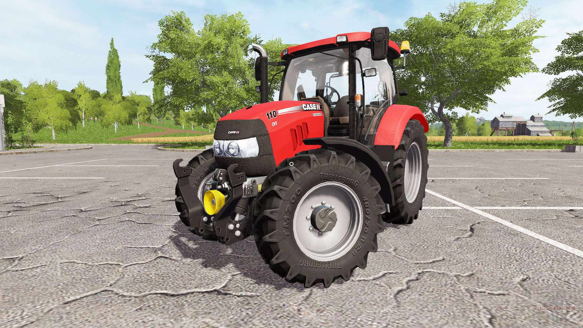 Case IH Maxxum 110 CVX for Farming Simulator 2017
