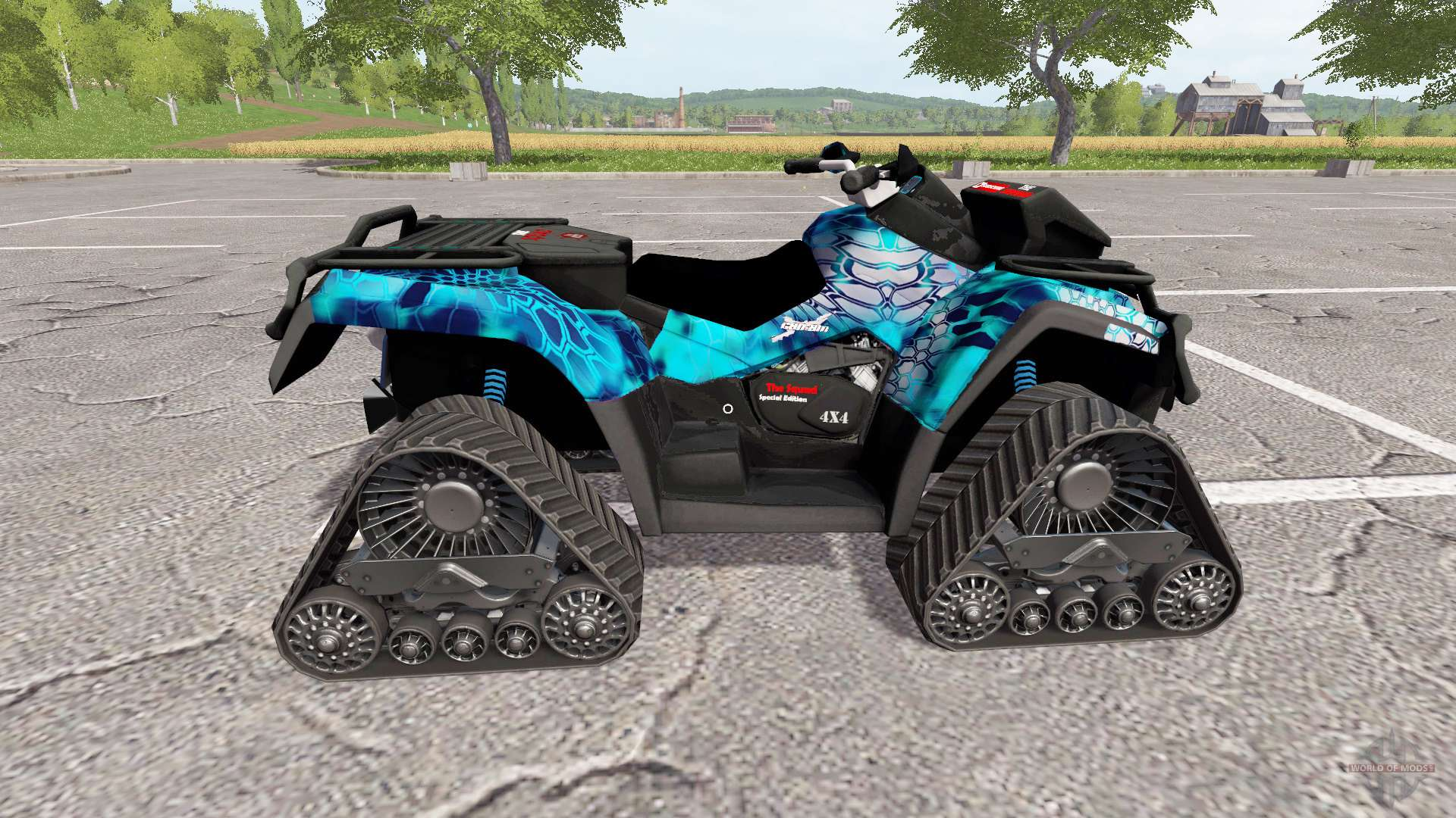 can am outlander 1000 xt kryptek for farming simulator 2017. Black Bedroom Furniture Sets. Home Design Ideas