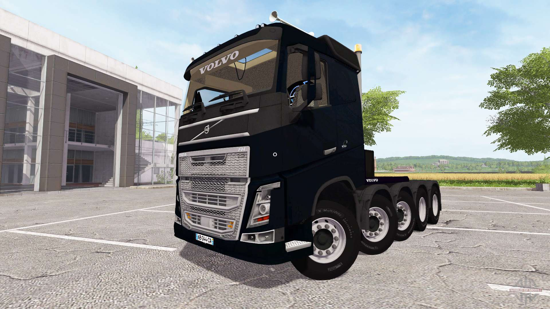 volvo fh 10x10 for farming simulator 2017. Black Bedroom Furniture Sets. Home Design Ideas