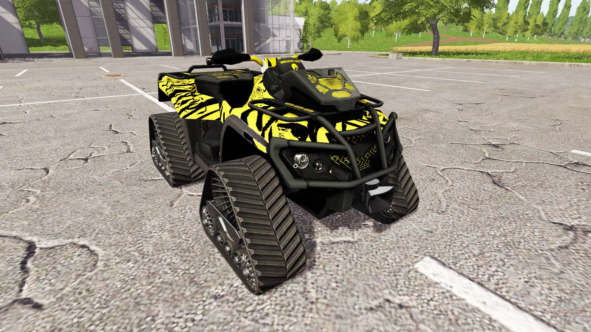 Can-Am Outlander 1000 XT Bruce Lee for Farming Simulator 2017