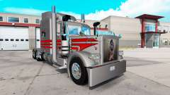 Rocker skin for the truck Peterbilt 389